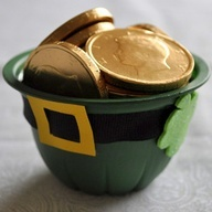 This Treasured Hat Leprechaun Craft is made from a recycled fruit cup!