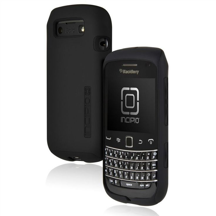 Incipio Silicrylic Blackberry Bold 9790 Cell Phone Case, Black
