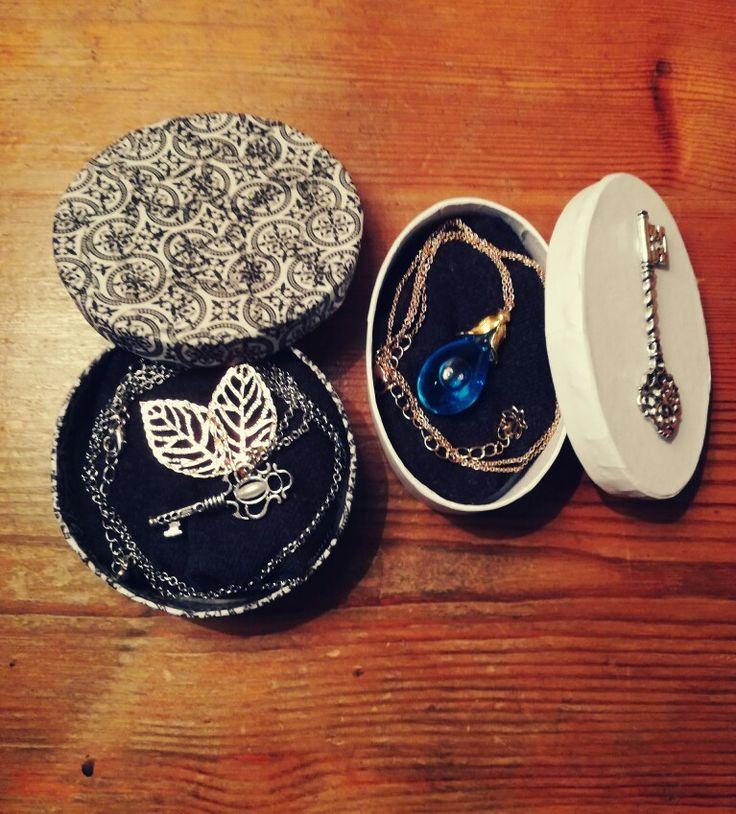 DIY Geschenke: Kette mit selbstgemachten Anhängern  //HarryPotter // DIY // Kette //Geschenk // Schmuck // gift