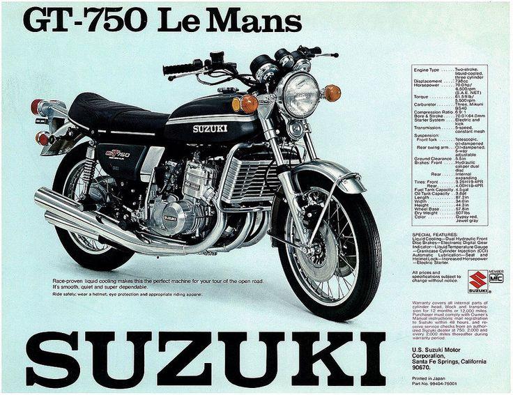 Suzuki Motorcycle Vintage