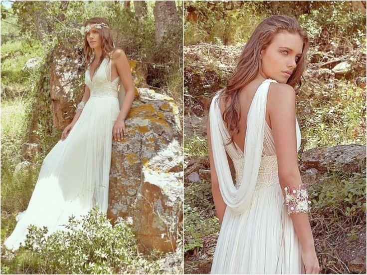 Vous n'avez pas encore flashé sur la robe qui vous ira divinement bien ? Nous avons regroupé pour vous 20 robes de mariée coupe empire inspirées de l'Antiquité grecque, toujours si à la mode !
