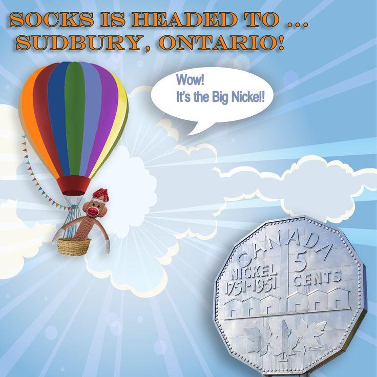 Socks headed to Sudbury! | Party Fun Box