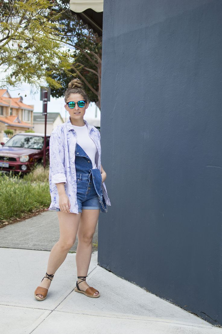 Playing the layer game in my new # superdry #dungarees.  #streetstyle #denim