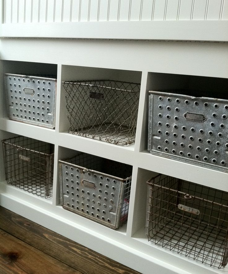 Mudroom Storage Bins : Images about swanson mudroom on pinterest