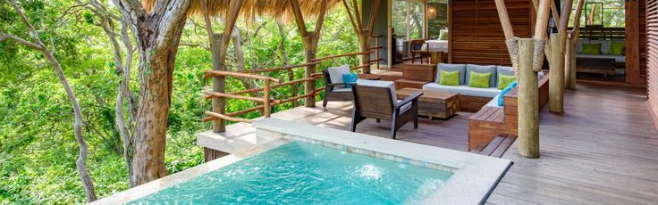 Morgan's Rock Hacienda & Ecolodge in Nicaragua is commendably green. You'll find it on a rainforest-overrun strip of land between Lake Nicaragua and the Pacific, with a low-impact farm and turtle-nest-sheltering cove within its bounds.