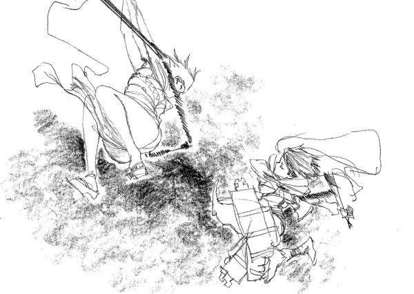 blade_of_the_immortal illustration shingeki_no_kyojin web yutaka_nakamura