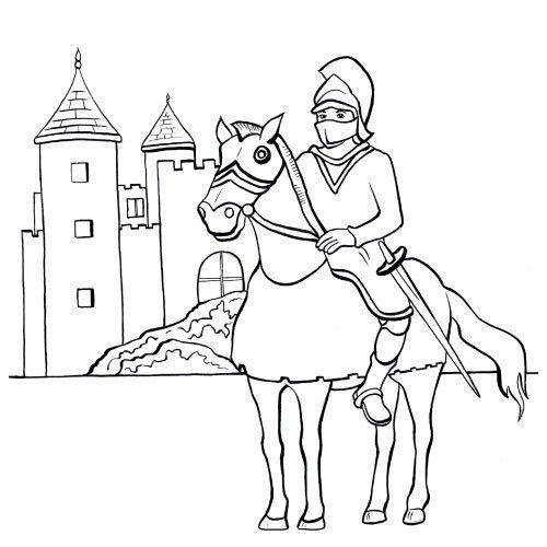 Les 191 meilleures images du tableau coloriage chateau - Chateaux dessin ...