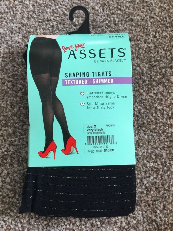 SPANX Textured-Shimmer Tights Patterned Shaping Tights Size 2 BNWT RRP£16 Black