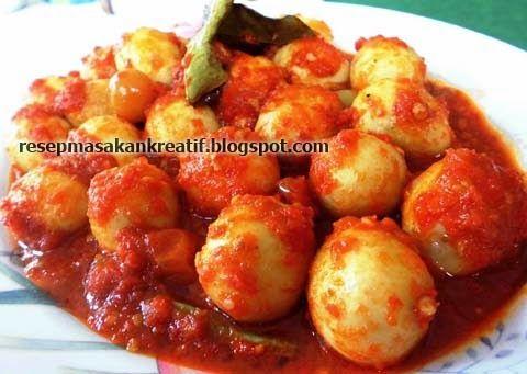 Resep Sambal Goreng Telur Puyuh | Resep Masakan Indonesia (Indonesian Food…