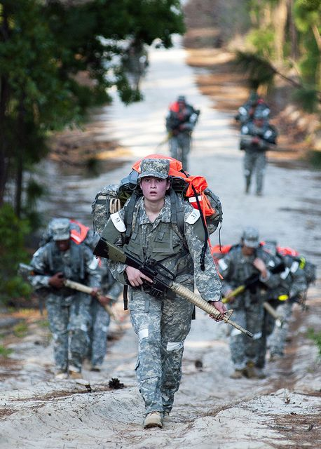 U.S. Army Female Soldiers !  will never ever forget the 15 mile road marches with full gear