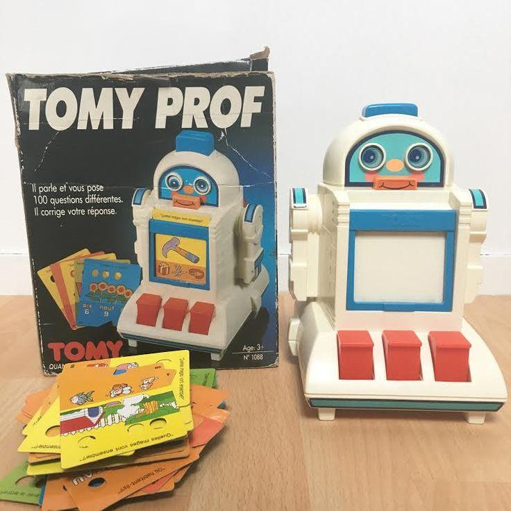 Orangevertevintage — Jeu Electronique Vintage Tomy Prof