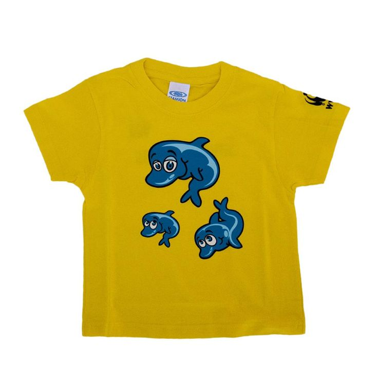 T-shirt Dolphins|wwf.gr
