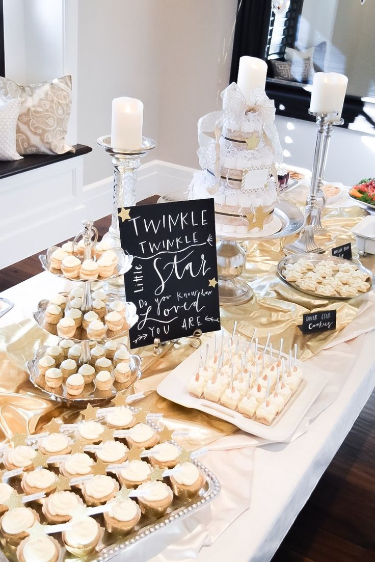Mr. and Mrs. Powell : Twinkle Twinkle Little Star... ( A baby shower )