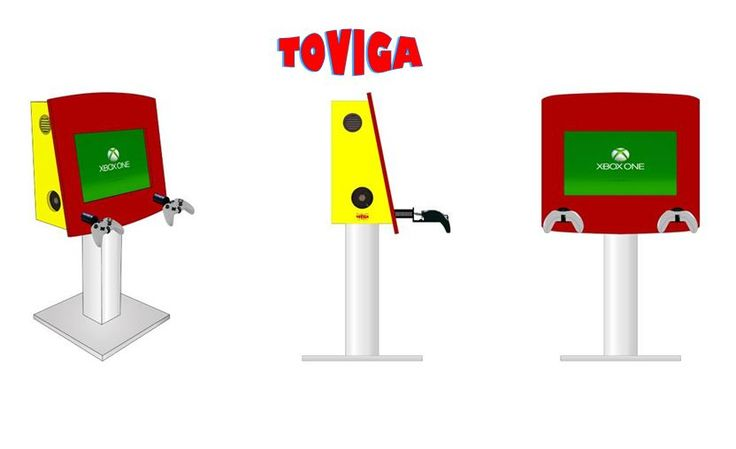 Toviga's #video #kiosks play 2-in-1 role – keep #visitors occupied in a #waiting #room and enhance your #brand. Contact us today to know more.  http://www.toviga.com/