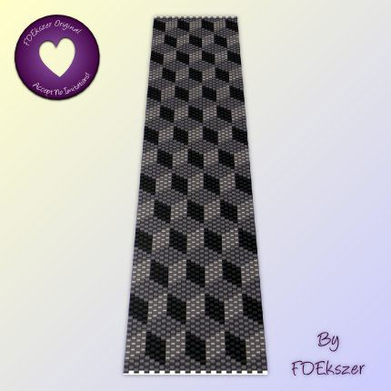 Giants Causeway - Peyote Stitch Beading Pattern for cuff bracelet - PDF - bp27 / buy any 2 patterns GET 1 FREE special offer. $6,50, via Etsy.