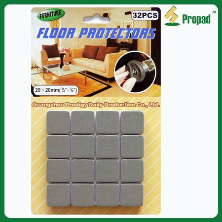 High Quality EVA Self Adesive Felt Pads E3F20 Feature: U2022To Protect The Floor, Avoid