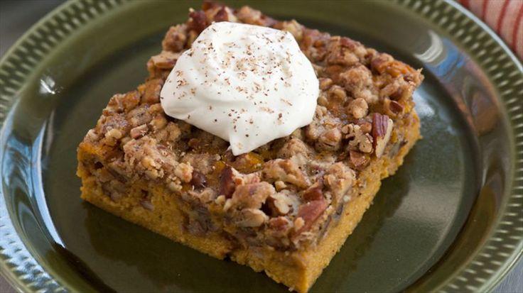 Pecan Pumpkin Crunch Recipe : Aida Mollenkamp : Food Network