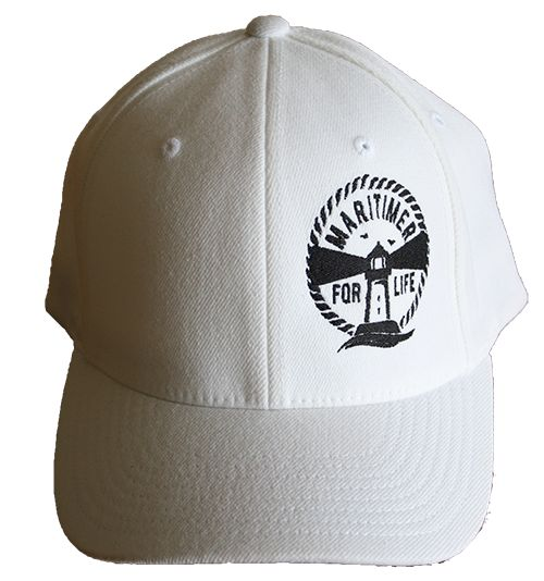 Black logo on white hat!  Just a proto-type! :-)