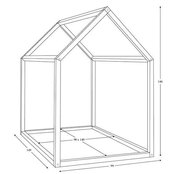 bonnesoeurs design lit maison dimensions chambre enfant pinterest chambre enfant chambres. Black Bedroom Furniture Sets. Home Design Ideas