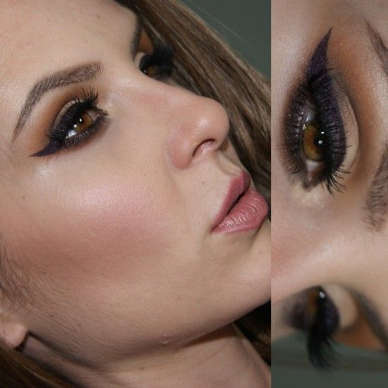Deep Plum Eyeliner - Temptalia Beauty Blog