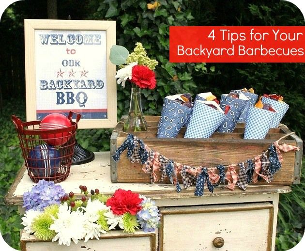 138 best images about backyard bbq party ideas on for Backyard bbq decoration ideas