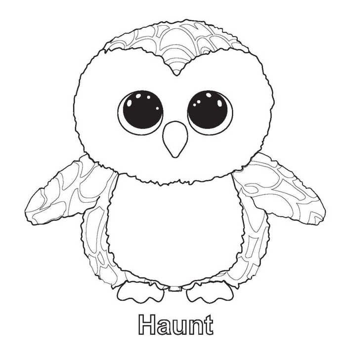 Beanie Boo Coloring Pages For Your Kids Pictures Of Beanie Boos Beanie Boo Party Beanie Boo Birthdays