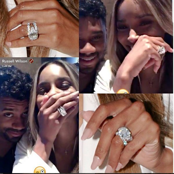 Ciara and Russell Wilson gush over their steamy wedding night in snaps