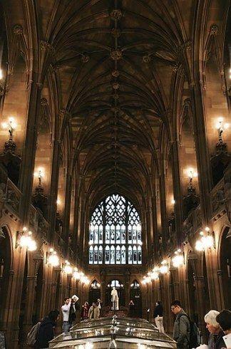 University of Manchester, UK | 16 University Campuses That Might Secretly Be Hogwarts