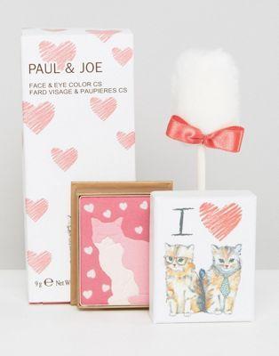 Colorete y sombra de ojos de edición limitada Make Up For Love de Paul & Joe