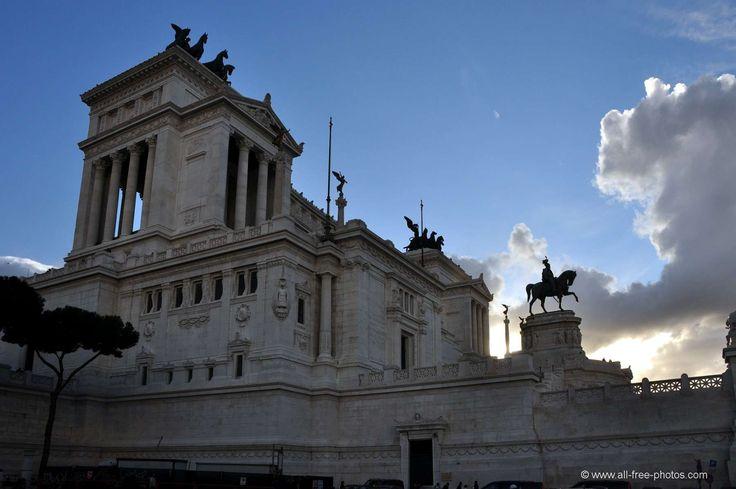 Monument à Victor Emmanuel II - Rome - Italie