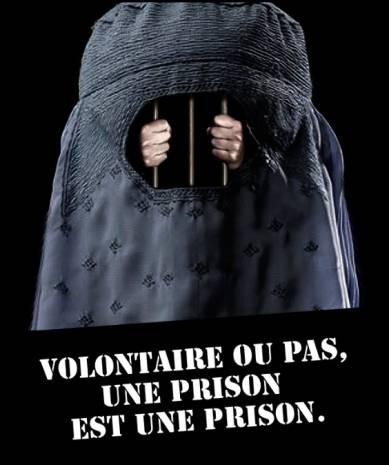 Rappelons que la burqa est une prison