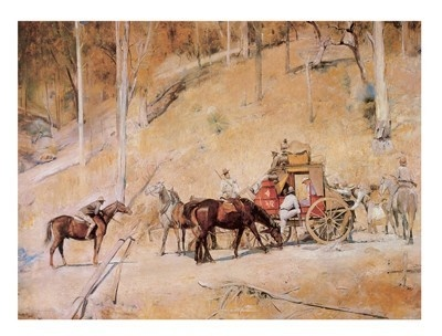 Tom Roberts - the first painting I loved (as a teenager)