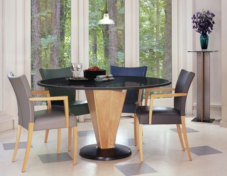 Granite Dining Room Furniture 5 Piece Dining Set Round Table Granite Dining Table Restaurant
