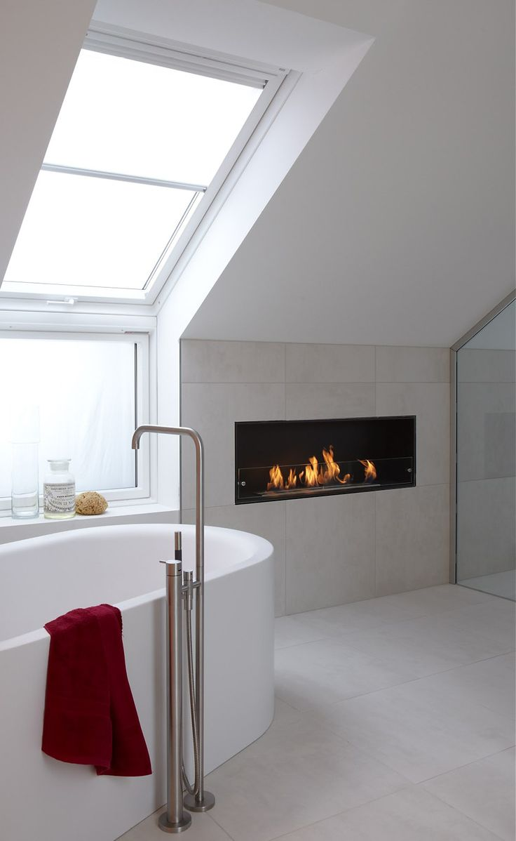 contemporary interior design- relaxing home with decoflame® Montreal