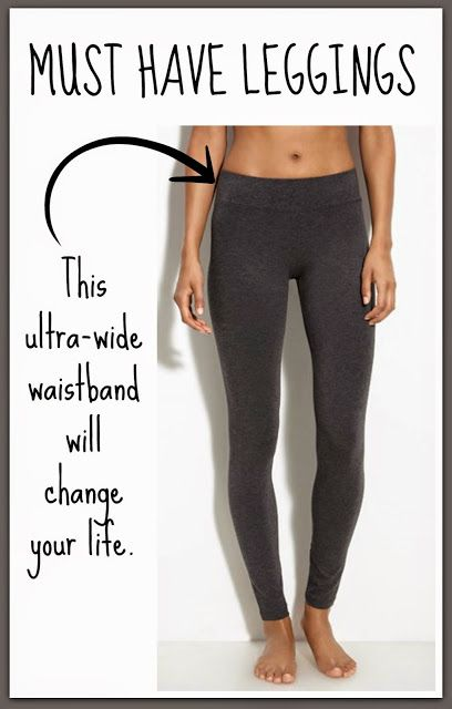 BEST. LEGGINGS. EVER.   They are thick, they don't pill, they don't sag, they stay put, the grey doesn't fade (there are some reports that the black fade after multiple washes)...and I love all those things. But the main thing that sets these leggings apart from all of the other leggings in the world is the ultra-wide waistband. The waistband sucks you in and smooths you out, but it somehow remains comfortable. It's like a scientific phenomenon or something. Don't question it, just accept…