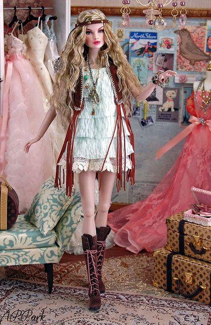 ¡¡¡ Amo este vestidor de aire super romántico !!!