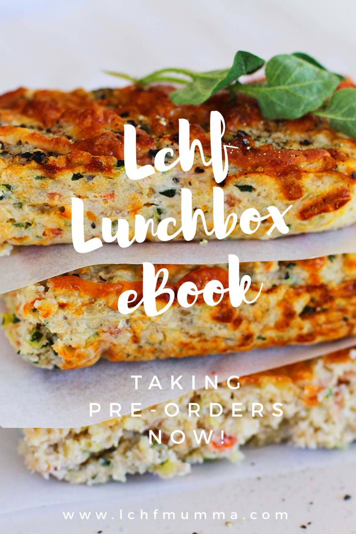 Our LCHF lunchbox ebook will be ready on Jan 25th 2018!! Taking pre-order now at 50% off for only $12.45, secure your spot today. Click the photo! See you there!!