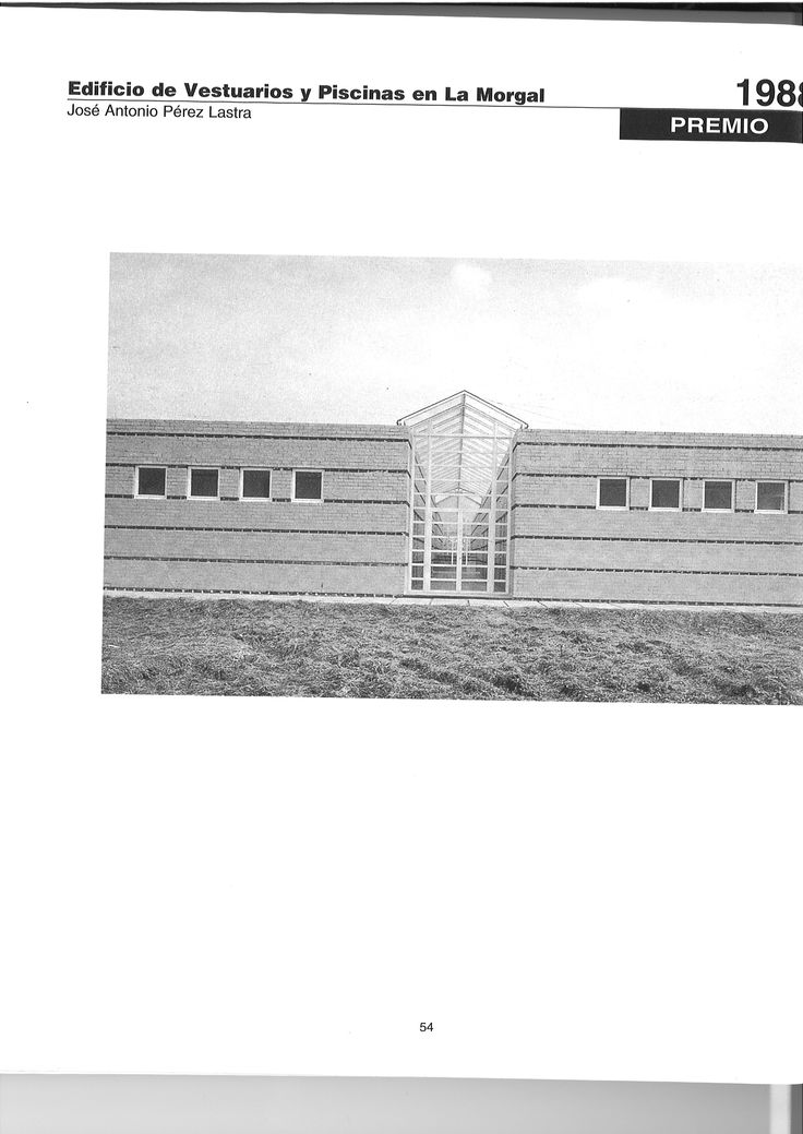 Vi premio asturias arquitectura a o 1988 edificio de for Piscinas la morgal