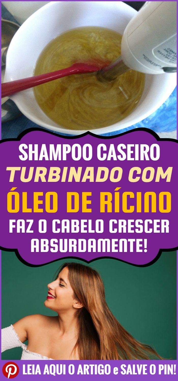 Receita De Shampoo Com Oleo De Ricino Faz O Cabelo Crescer Muito
