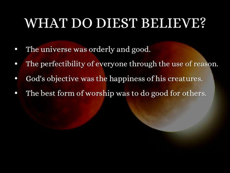 Thomas Paine Deism Belief