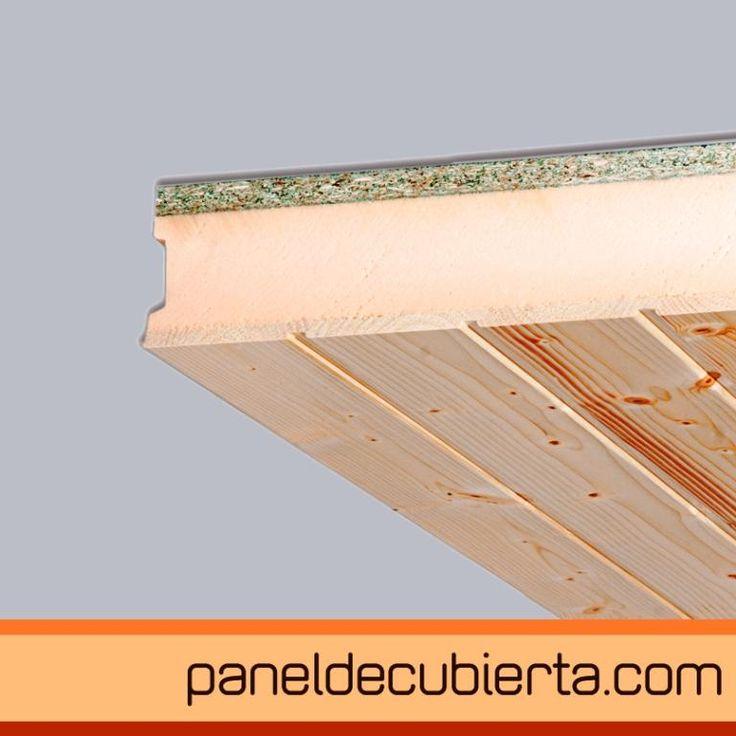 Panel de cubierta friso abeto xps aglomerado hidrofugo for Sandwich para tejados de madera