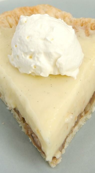 Praline Cream Pie...used Pillsbury roll out crust, extra thick instant vanilla pudding with added vanilla, and Ready Whip whipped cream. Easy and yummy!