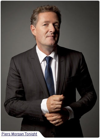 Piers Morgan proves to Americans once and for all, that having a British accent doesn't equate to having intelligence.