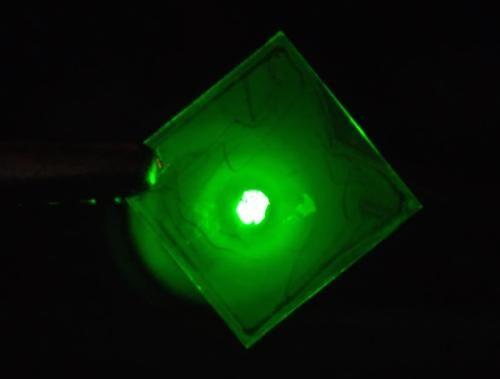 Il LED low-cost che si applica come una vernice | QualEnergia.it