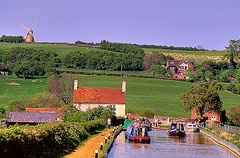 Napton on the Hill, Warwickshire, UK. I grew up 5 minutes walk away from that windmill *sigh*. Will definitely go back and visit again one day.