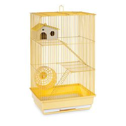 Prevue Pet Products Three Story Yellow Hamster/Gerbil Cage SP2030Y | Overstock.com Shopping - The Best Deals on Cages & Accessories
