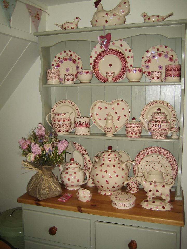 Emma Bridgewater Gorgeous Pink Display