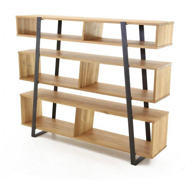 best 20 etagere bois et metal ideas on pinterest biblioth que en m tal de. Black Bedroom Furniture Sets. Home Design Ideas