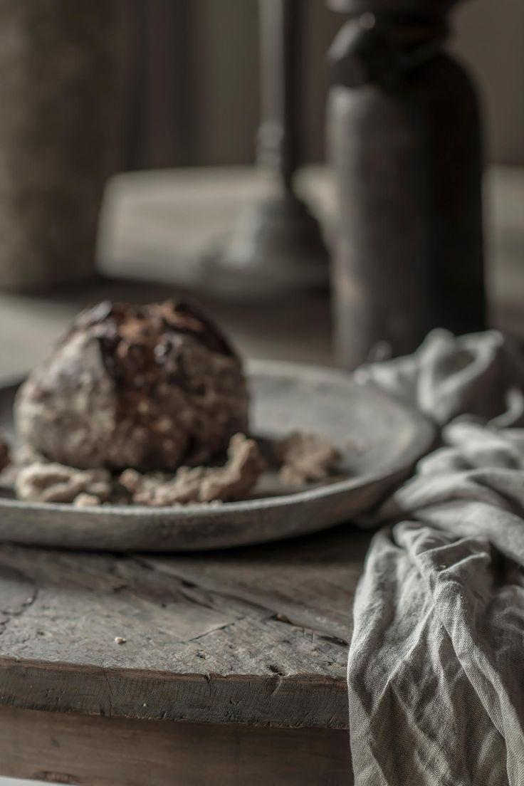 Oud houten eettafel hoffz | www.twoonhuis.nl