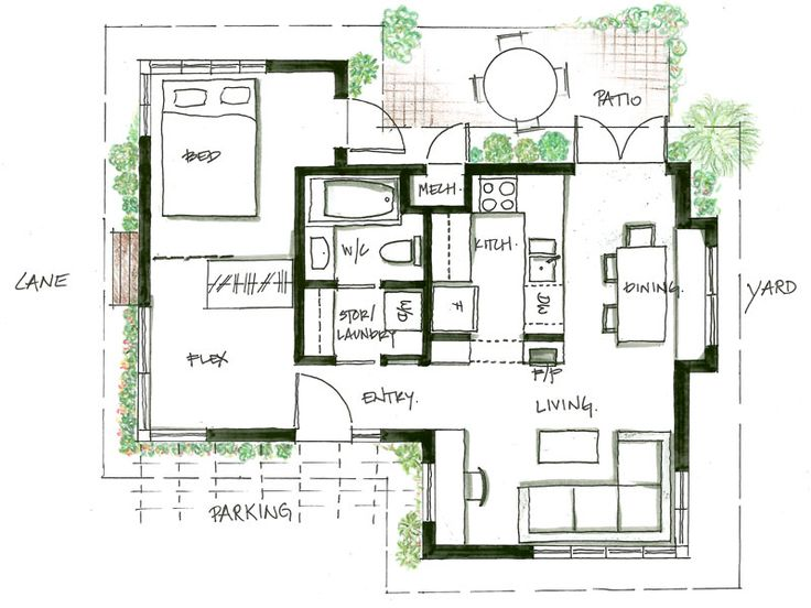 445 Best Images About Floorplans On Pinterest One